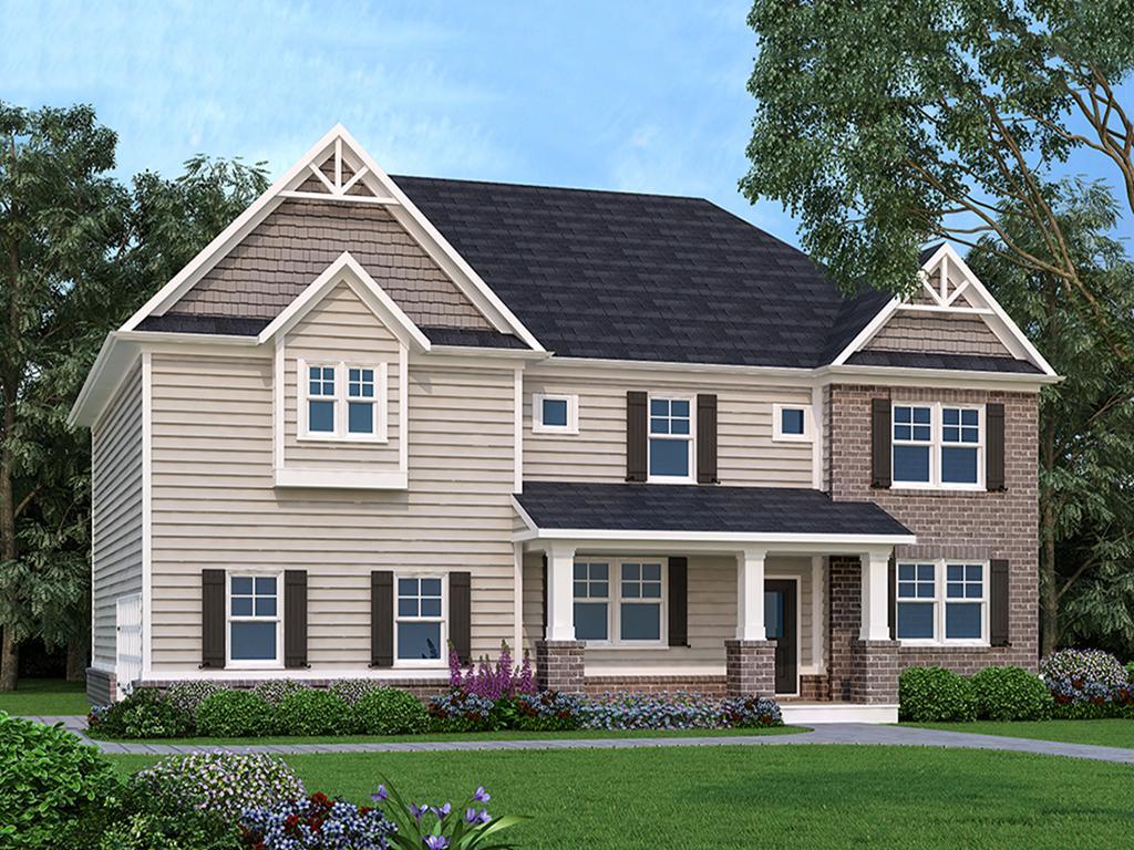 Chesapeake New Home Floor Plan