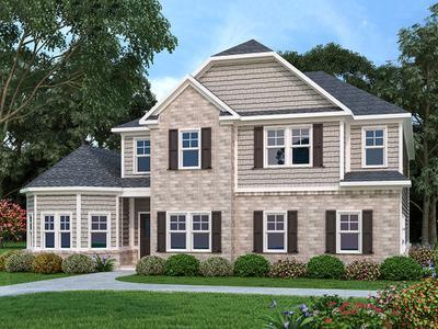Clarks Hill New Home Floor Plan