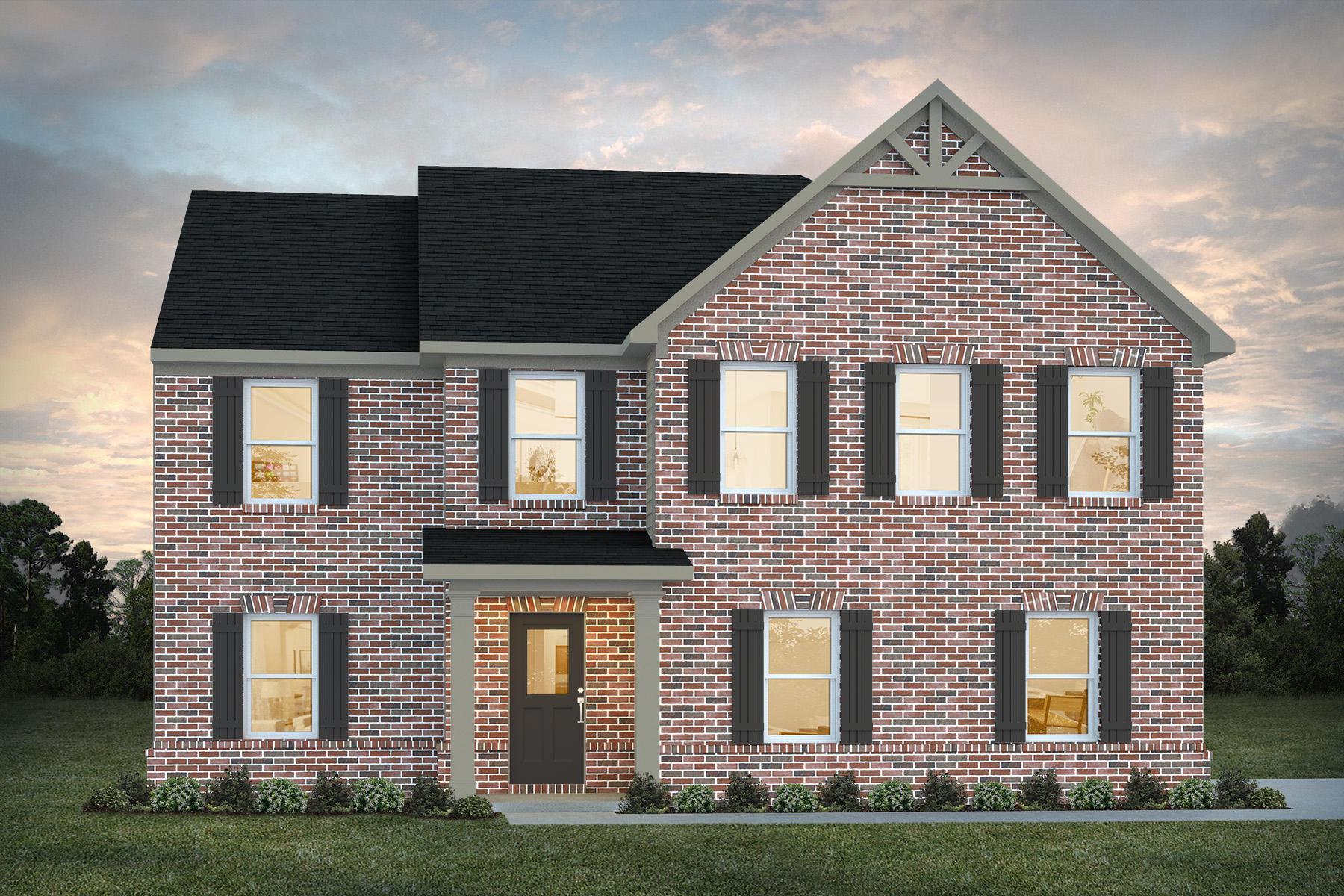Tucker New Home Floor Plan